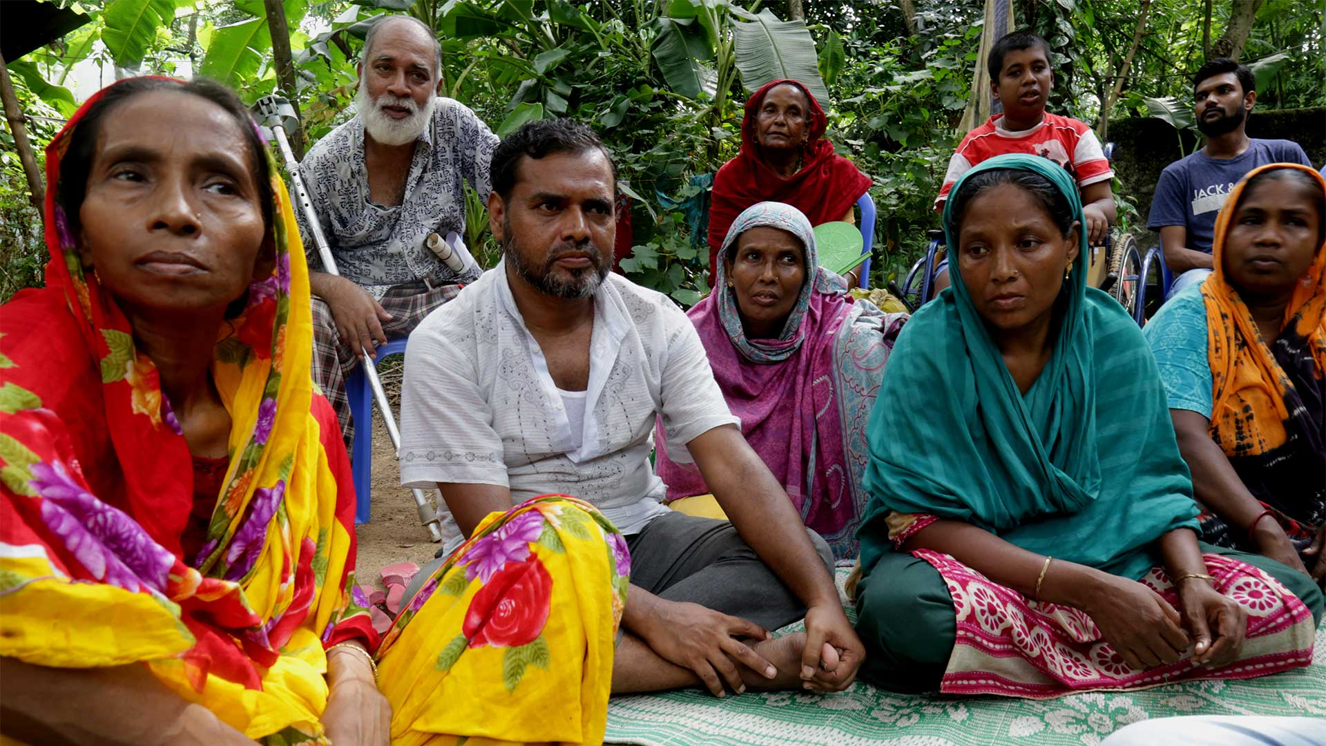Group of carers in Bangladesh