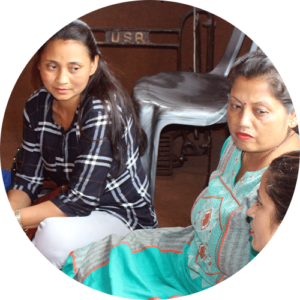 Carer group in Nepal
