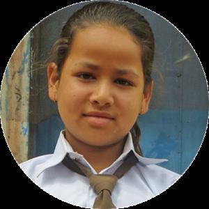Child carer in Nepal