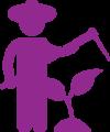 icon of farmer